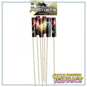 Weco Old School Rockets (6 stuks) op=op (OP=OP) [WEC1344]